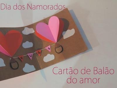 DIY:: Dia dos namorados - Cartão de balão