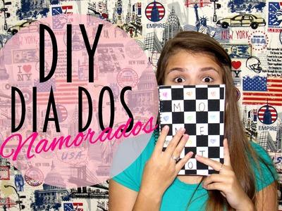 DIY: Diário de momentos (Dia dos namorados) | Por Vicky Valeriano