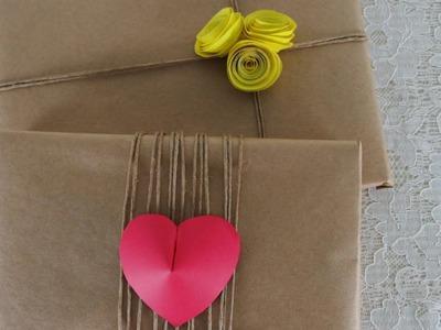 DIY - Embalagens de presente