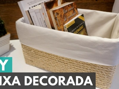 Caixa organizadora personalizada |DIY - Faça você mesmo