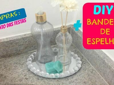 DIY : Bandeja de espelho + Loja Ponto das Festas
