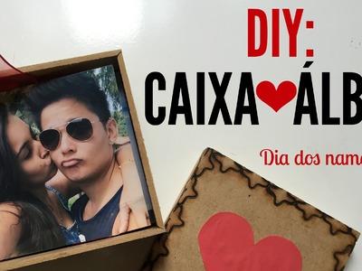 DIY: CAIXA ÁLBUM PARA O DIA DOS NAMORADOS