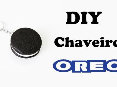 DIY: Como Fazer um CHAVEIRO OREO em Biscuit | Ideias Personalizadas - DIY