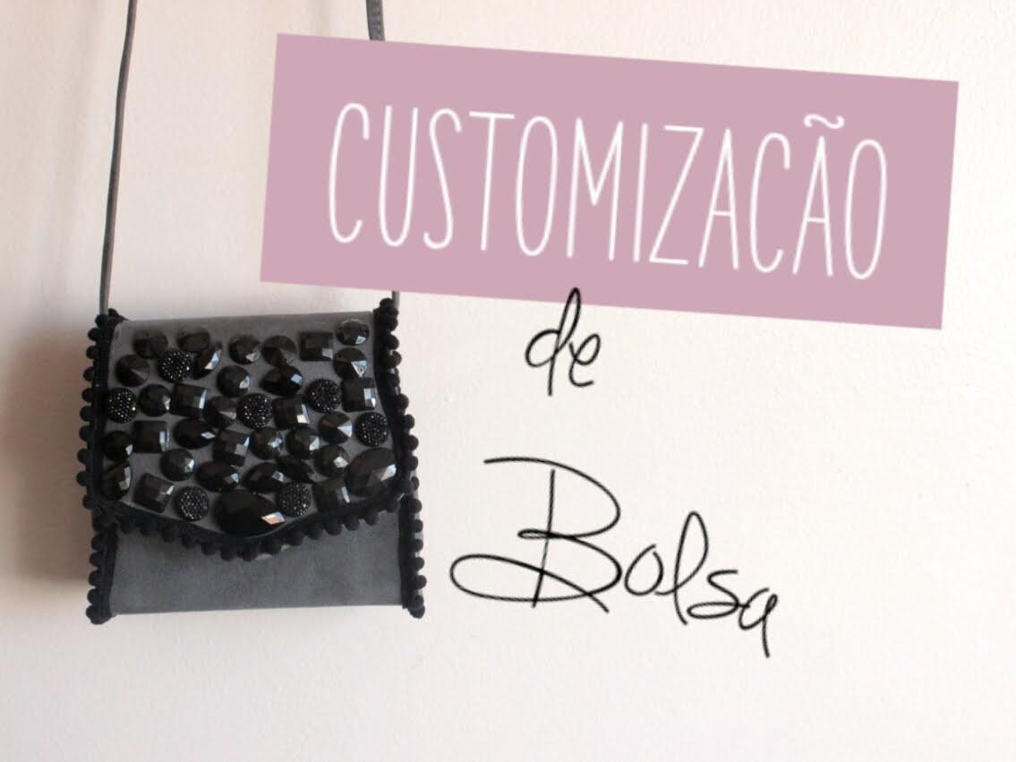 DIY   Customização de bolsa