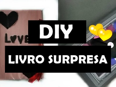 DIY Dia dos Namorados (Livro Surpresa) por Victória Souza