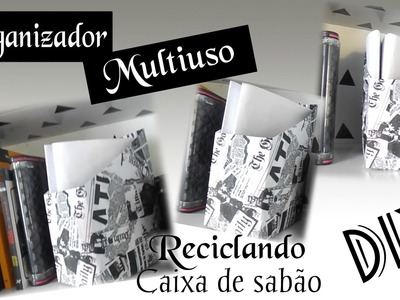 DIY :: ORGANIZADOR MULTIUSO :: Reciclado