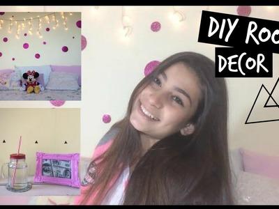 DIY ROOM DECOR - Faça você mesma decoração para seu quarto!