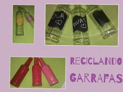 Reciclando garrafas diy