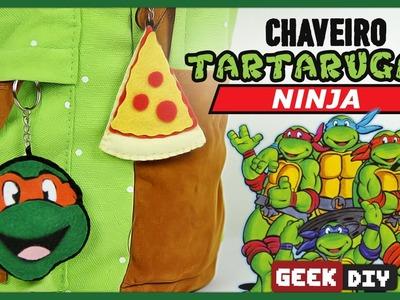 Chaveiro Tartarugas Ninja | DiY Geek