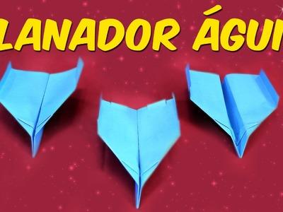 Como fazer um planador águia (avião de papel)