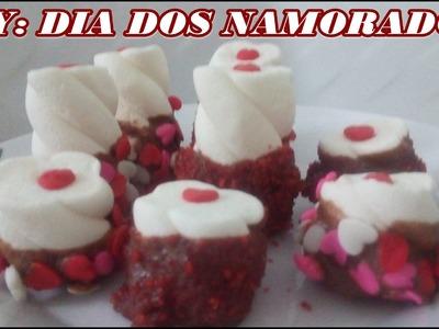 DIY: DIA DOS NAMORADOS| MARSHMALLOW COM CHOCOLATE