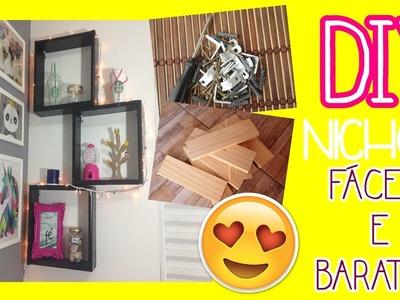 DIY NICHOS - FÁCEIS E BARATOS - Faça seus próprios nichos em casa! | Carolina Sanchez