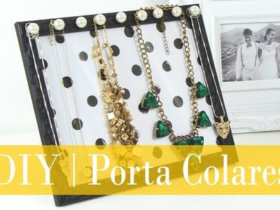 DIY | Porta colares com porta retrato | Do  Sofá