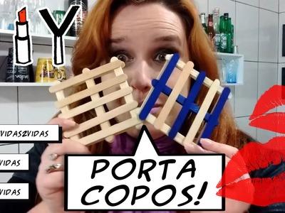 Porta Copos - Palets - DIY - Ep. 39 - 2 Vidas!