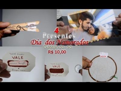 Presentes de DIA DOS NAMORADOS - SUPER FÁCIL E BARATO - DIY