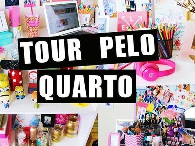 TOUR PELO QUARTO DE GRAVAÇÃO ❤️ | Carol Alves