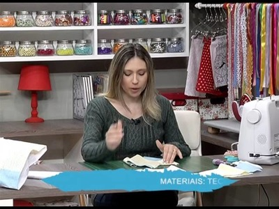 Como fazer uma fronha de patchwork - 01.06.16 - 1a parte