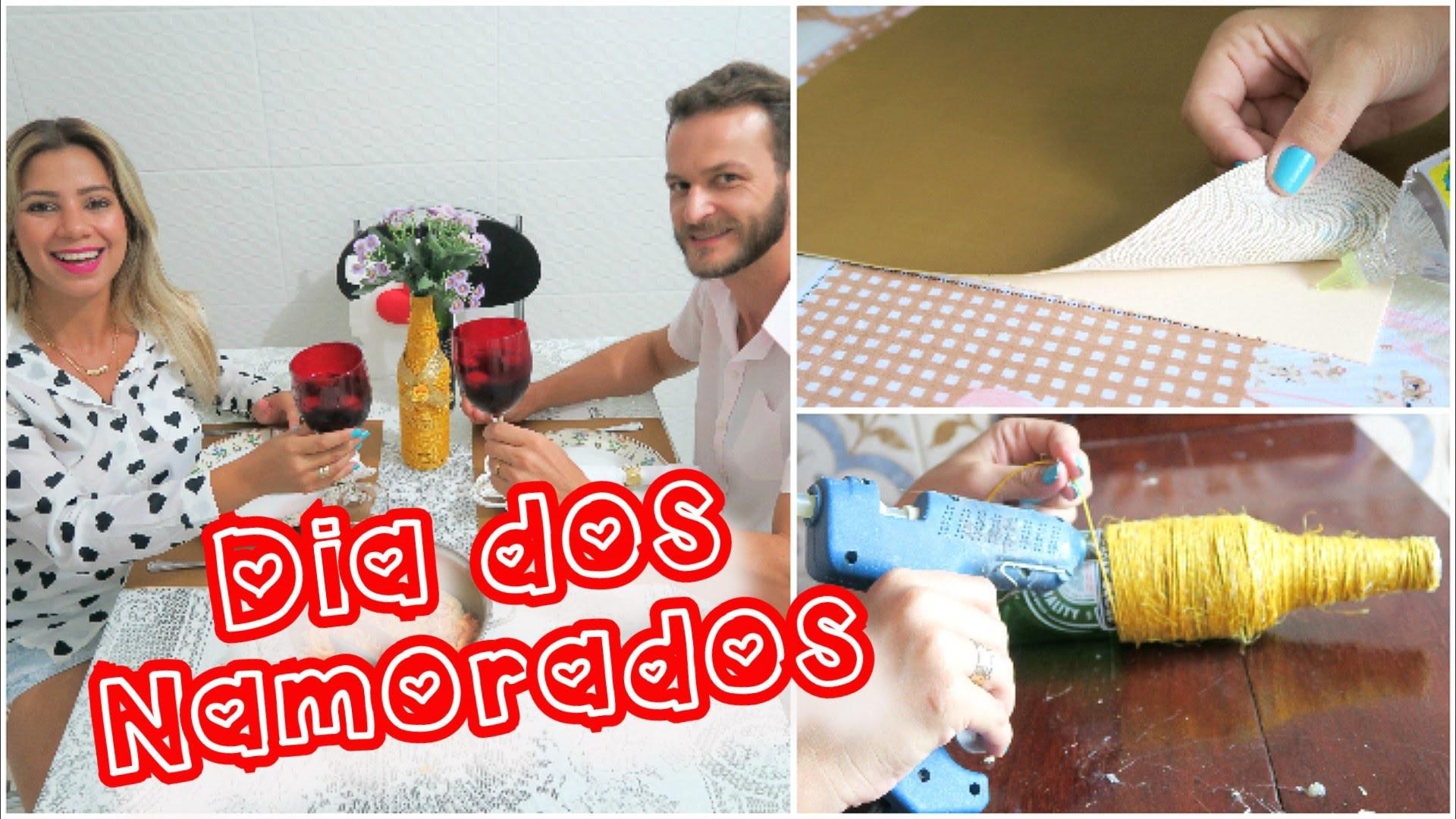 Dia dos Namorados: DIY + Decoração de Mesa + Jantar ❤
