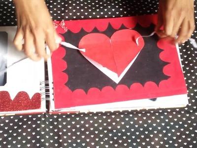 Nosso scrapbook. Letícia&Wellington