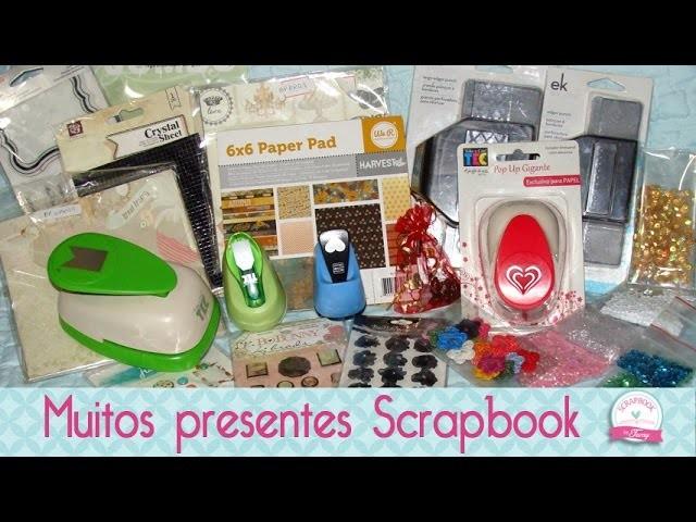 Recebido Junho Scrapbook Papelaria- Scrapbook by Tamy