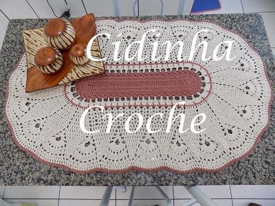 Croche- Centro De Mesa Ou Tapate Marroquino- Passo A Passo- Parte 1.2