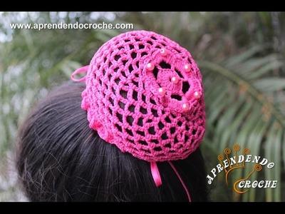 Redinha em Crochê para Balé - Aprendendo Crochê