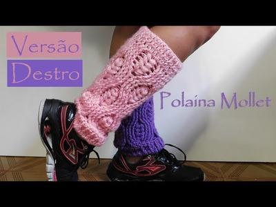[Versão destro] Polaina Mollet