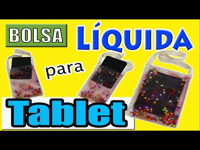Bolsa líquida para tablet  - Muito fácil!!!
