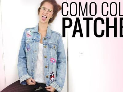 Como customizar uma jaqueta com patches | Luiza Rossi