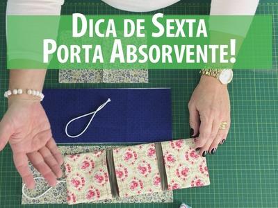 Dica de Sexta - Porta Absorventes DIY (Tutorial Patchwork) com Patricia Muller