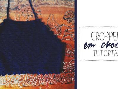 DIY CROPPED em crochê #2 | Milla Tutorial