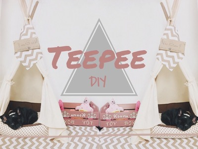 DIY | Dog Teepee (Cabana, Tenda) | Pinterest.Tumblr Inspired