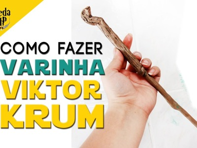 DIY VARINHA DO VIKTOR KRUM ❤ VEDA HP #24