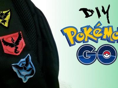 DIY.: Bottons.Broche Equipes (Kit Pokémon GO)