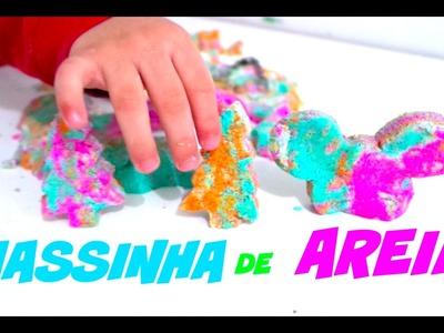 DiY: Como Fazer MASSINHA DE AREIA- ELENICE CARNEIRO