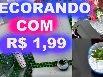 #DIY - Decorando o Banheiro com R$ 1,99