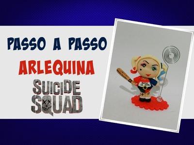 DIY Harley quinn (Arlequina) Fofinha - Esquadrão Suicida