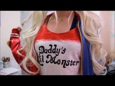 DIY Harley Quinn T-shirt - Tutorial camiseta Arlequina