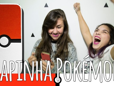 DIY: Pokémon! Capinha de Pokebola