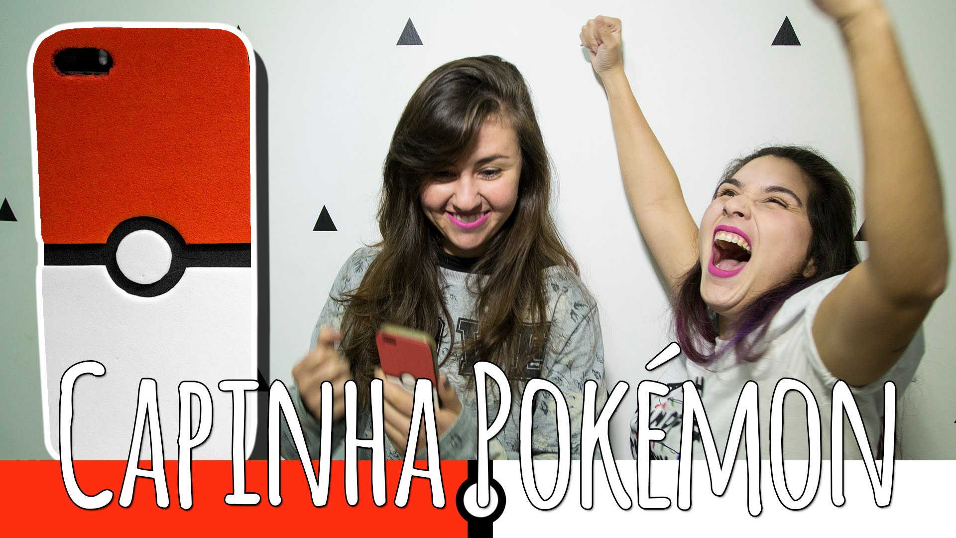 DIY: Pokémon! Capinha de Pokebola