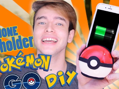 DIY Pokemon Go Phone Charger.Holder + SORTEIO !!!