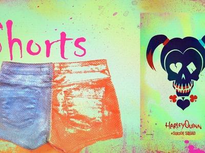 DIY - Série de Tutoriais - Harley Quinn - 2. Shorts