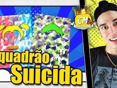 ESQUADRÃO SUICIDA QUADROS MINIMALISTA DIY Canal Monarca