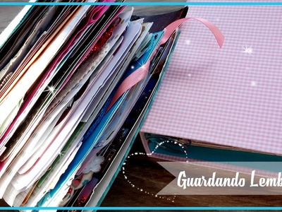 Caderninho todo decorado - Scrapbook by Tamy #VEDA