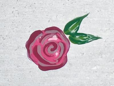 Como Desenhar Rosa | Passo a Passo Simples | DIY | Unhas da Lalá