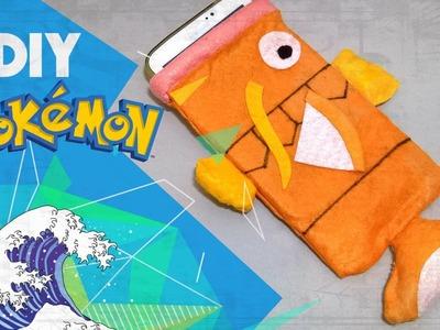 DIY.: Capa Para Celular.Tablet Magikarp (Kit Pokémon GO)