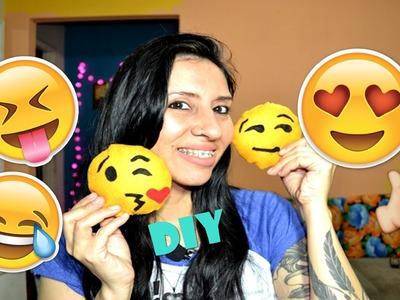DIY Como fazer emojis para pendurar