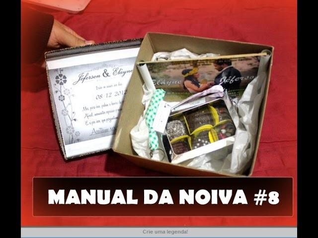 DIY: Convite para os padrinhos de casamento BARATINHO | Por Eláyne Oliveira