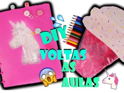 DIY: VOLTA AS AULAS - MATERIAL ESCOLAR FOFOS