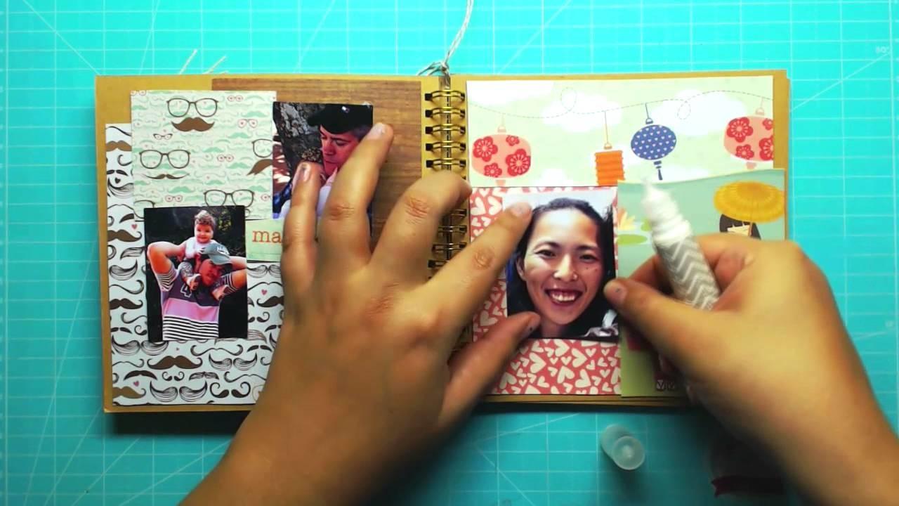 PAP álbum decorado- Maio 2016- Scrapbook by Tamy